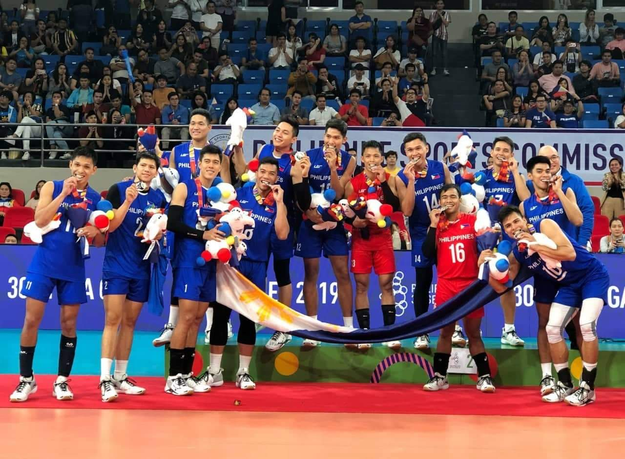 Phiippines Men's Volleyball SEA Games