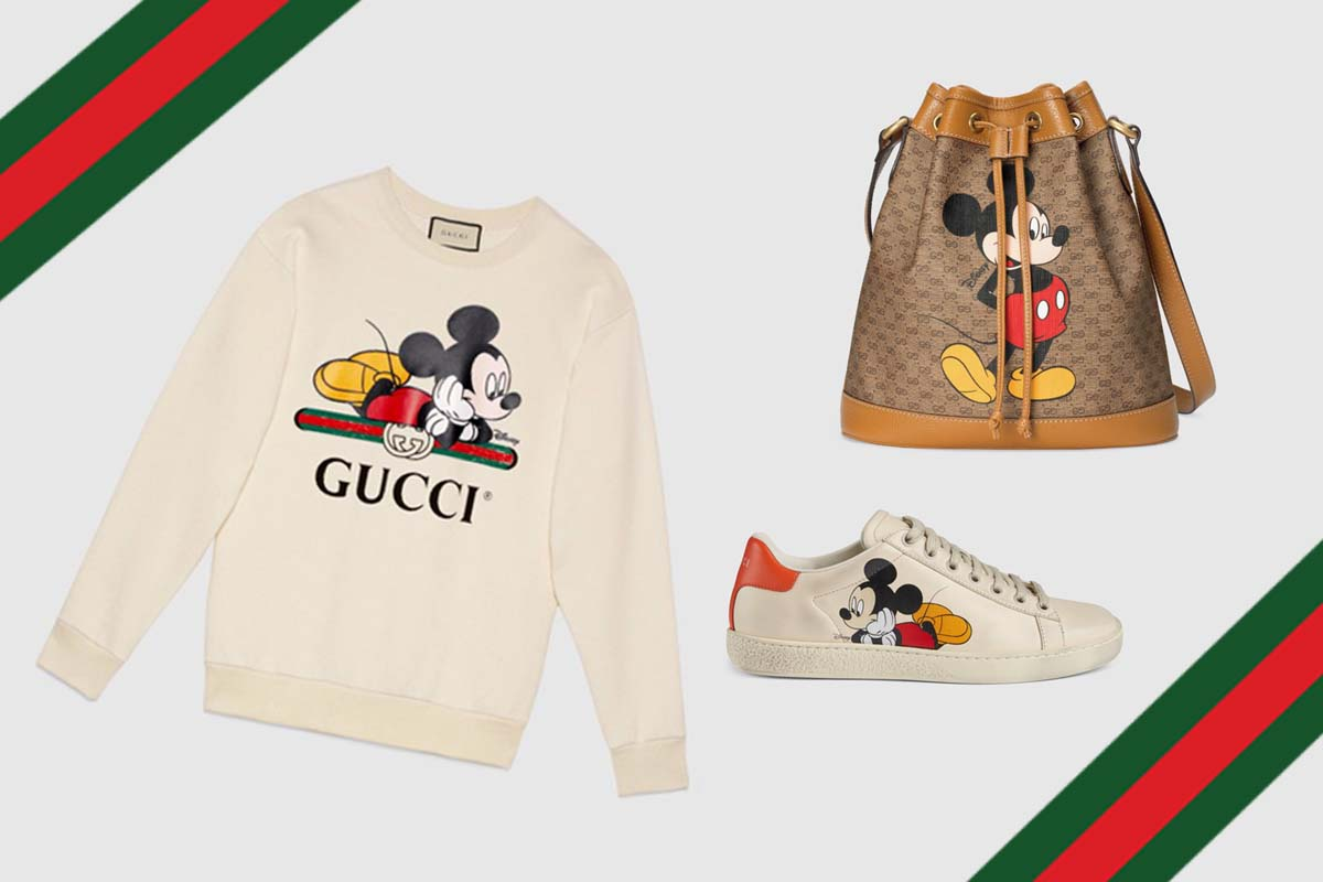 Gucci Celebrates The Year of the Rat With Mickey Mouse