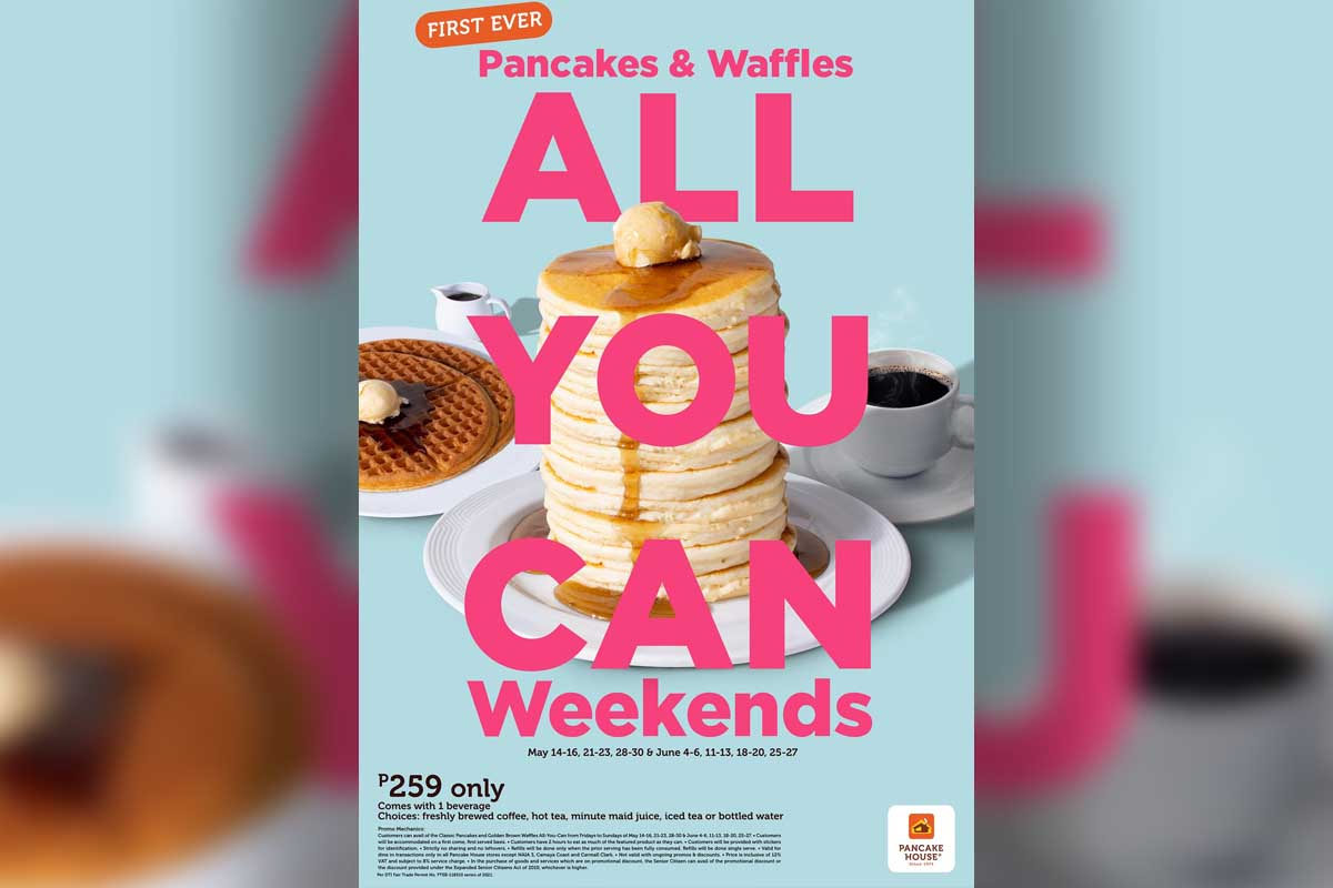 pancake house's Pancakes & Waffles All-You-Can